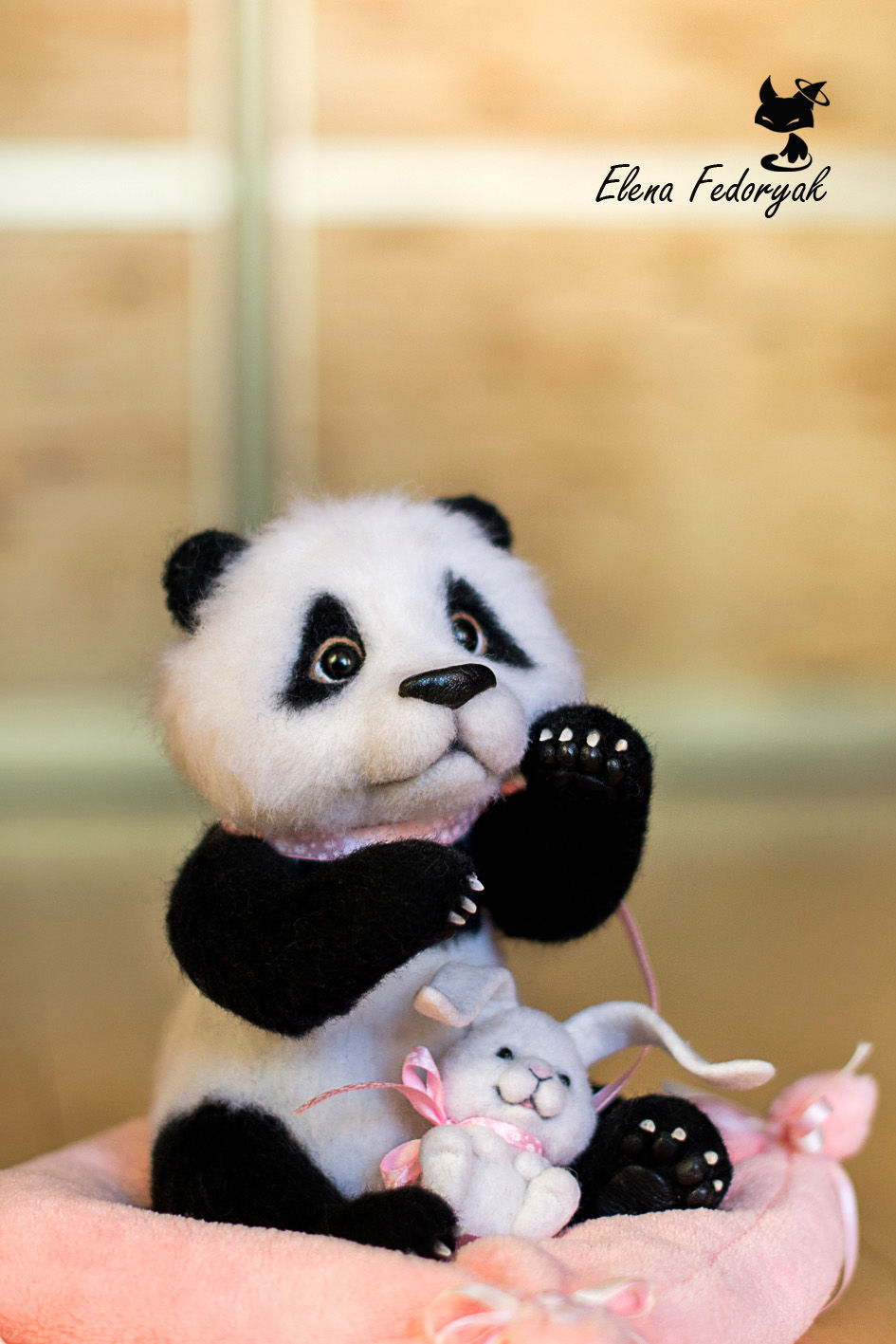 учился панда и заяц вместе картинки открытка