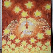 """Картины и панно ручной работы. Ярмарка Мастеров - ручная работа картина """"О любви"""". Handmade."""