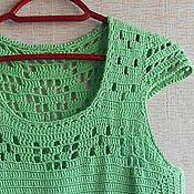 Одежда ручной работы. Ярмарка Мастеров - ручная работа Платье Мятная мечта. Handmade.