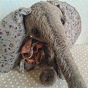 Куклы и игрушки ручной работы. Ярмарка Мастеров - ручная работа Тедди слоник для Натальи. Handmade.