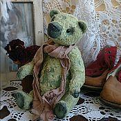 Куклы и игрушки ручной работы. Ярмарка Мастеров - ручная работа Мишка Тедди старичок 17см. Handmade.