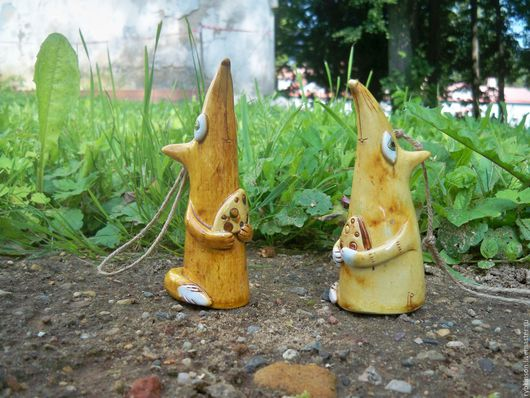 """Колокольчики ручной работы. Ярмарка Мастеров - ручная работа. Купить Колокольчик """"Лисичка"""". Handmade. Рыжий, лес, Керамика, глина"""