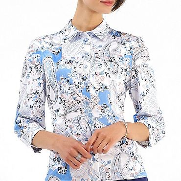 """Одежда ручной работы. Ярмарка Мастеров - ручная работа Рубашка """"Иней"""". Handmade."""