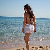 Одежда ручной работы. Ярмарка Мастеров - ручная работа Пляжная юбочка. Handmade.