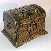 Для дома и интерьера handmade. Livemaster - original item Chest box. Handmade.