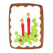 Подарки к праздникам ручной работы. Ярмарка Мастеров - ручная работа Свечи, имбирно-медовый пряник. Handmade.