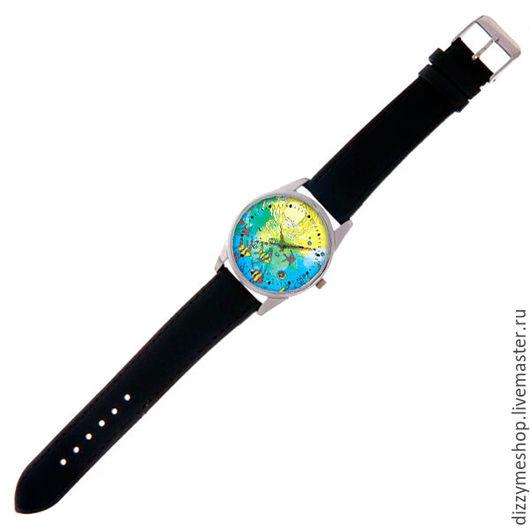 """Часы ручной работы. Ярмарка Мастеров - ручная работа. Купить Часы наручные """"Коралловый Остров"""". Handmade. Синий, часы наручные"""