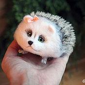 Куклы и игрушки handmade. Livemaster - original item hedgehog wool medium size. Handmade.
