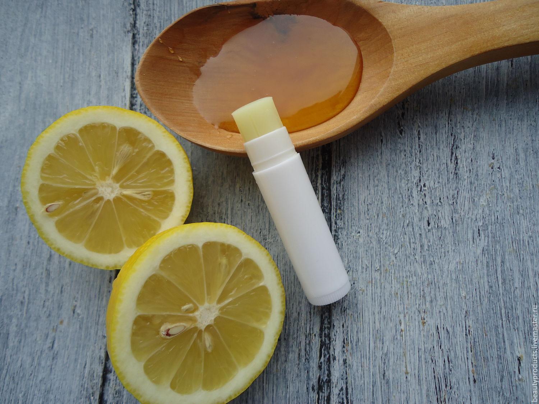 """Бальзам для губ """"Мед и лимон"""", Бальзамы, Саратов, Фото №1"""