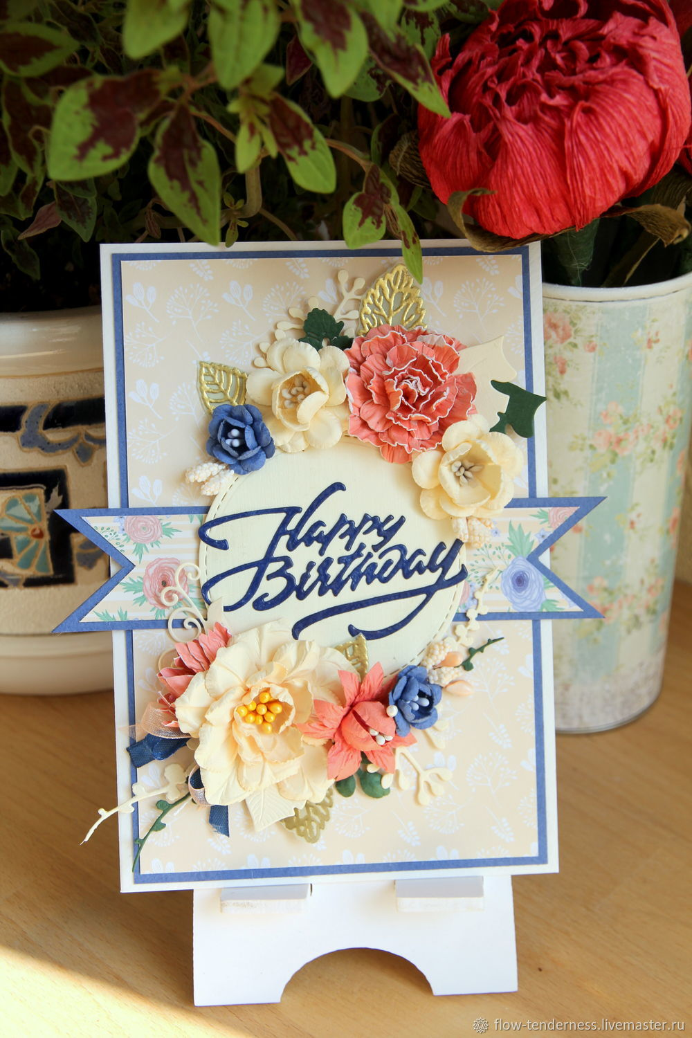 Greeting Card For Birthday Shop Online On Livemaster With Shipping