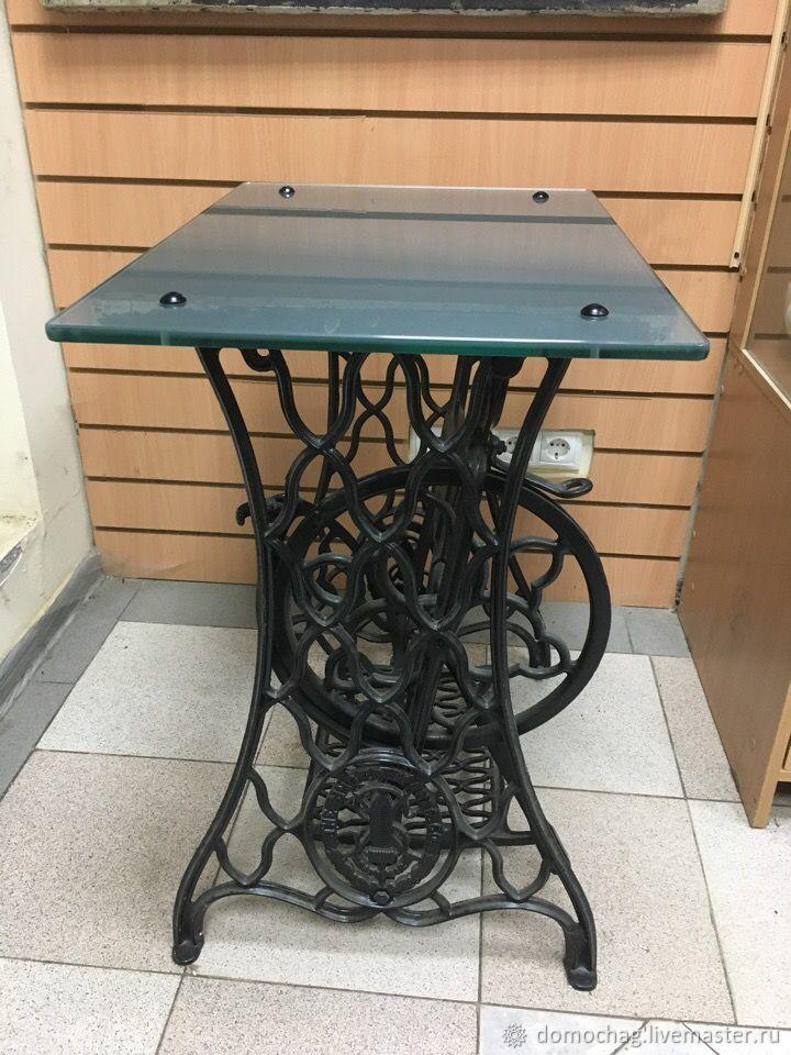 Стол из швейной машинки зингер фото