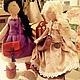 Коллекционные куклы ручной работы. Ярмарка Мастеров - ручная работа. Купить Кукла большеножка! Очаровательные хулиганки:))). Handmade. Кукла, кружево