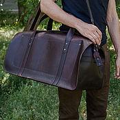 Travel bag handmade. Livemaster - original item Andersson leather travel bag. Handmade.