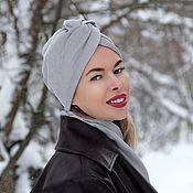 Аксессуары handmade. Livemaster - original item Turban-turban made of micro-velvet. Handmade.