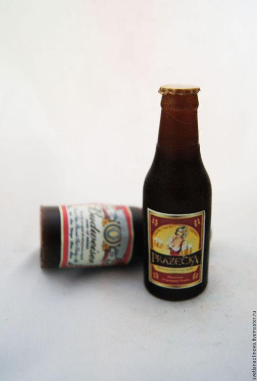 """Мыло ручной работы. Ярмарка Мастеров - ручная работа. Купить Мыло ручной работы """"Бутылка пива"""". Handmade. Пивная бутылка"""