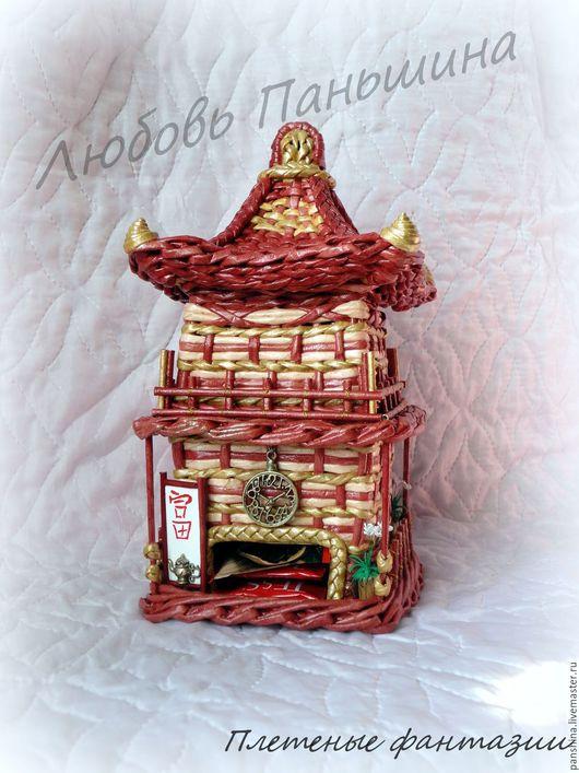 Кухня ручной работы. Ярмарка Мастеров - ручная работа. Купить Китайский чайный домик. Handmade. Комбинированный, декор кухни