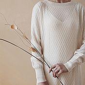 Одежда handmade. Livemaster - original item Cashmere tunic Wed. Handmade.