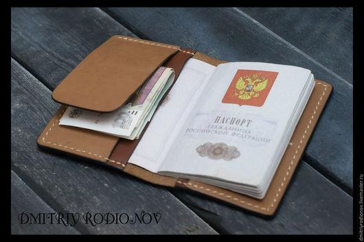 Органайзеры для сумок ручной работы. Ярмарка Мастеров - ручная работа. Купить Обложка для паспорта арт. 0061. Handmade. Обложка на паспорт