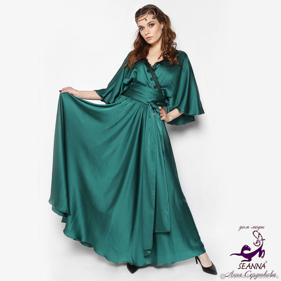 48007fe65a5 Платья ручной работы. Ярмарка Мастеров - ручная работа. Купить Роскошное шелковое  платье