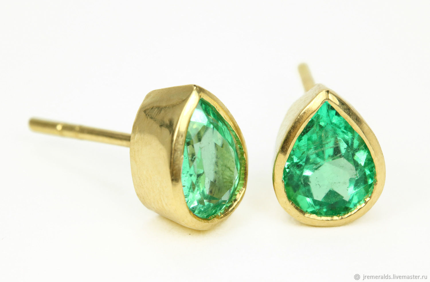 emerald qp gold drop white in jewellers and diamond earrings