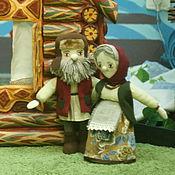 Куклы и игрушки ручной работы. Ярмарка Мастеров - ручная работа Дедушка и Бабушка. Handmade.