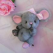 Teddy Toys handmade. Livemaster - original item Mouse Teddy Laly. Handmade.