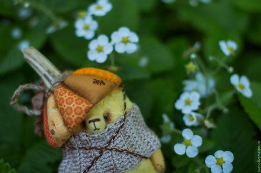 Мишки Тедди ручной работы. Ярмарка Мастеров - ручная работа. Купить тыковка. Handmade. Желтый, опилки древесные