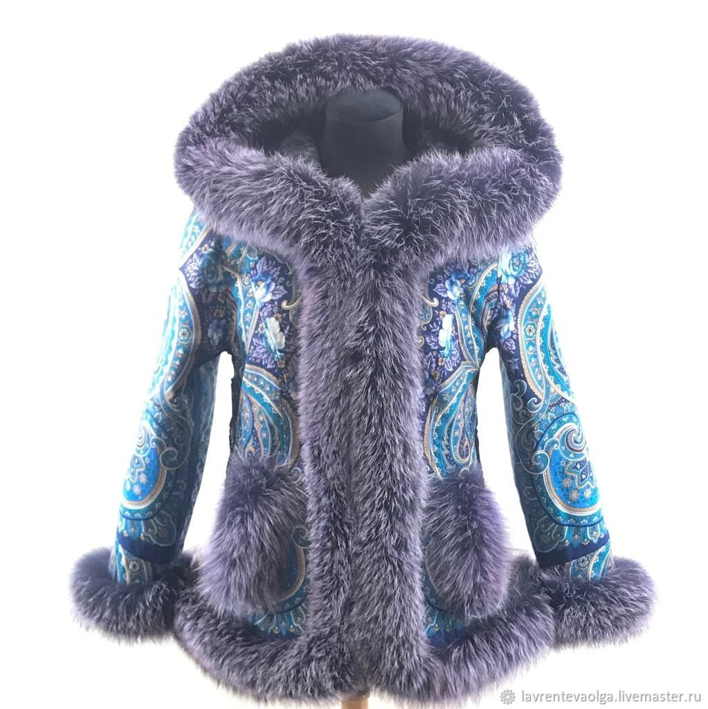 Fashionable jacket with fur, Outerwear Jackets, Moscow,  Фото №1