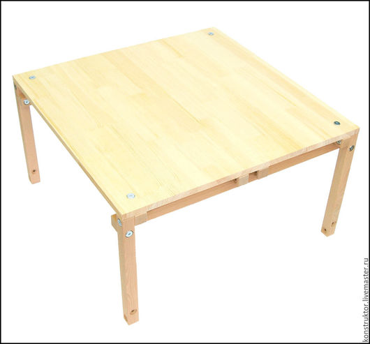 Мебель ручной работы. Ярмарка Мастеров - ручная работа. Купить Стол журнальный Лофт. Handmade. Бежевый, стол, журнальный, массив