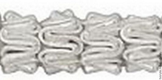 Для украшений ручной работы. Ярмарка Мастеров - ручная работа. Купить Бусина-спейсер серебро 925 пробы Таиланд. Handmade.