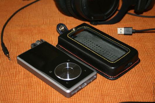 Для телефонов ручной работы. Ярмарка Мастеров - ручная работа. Купить Чехол для аудио-плеера. Handmade. Черный