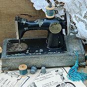 """Для дома и интерьера ручной работы. Ярмарка Мастеров - ручная работа Швейная машинка """"Винтаж"""". Handmade."""