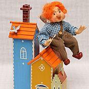 Куклы и игрушки handmade. Livemaster - original item CARLSON dolls. Handmade.