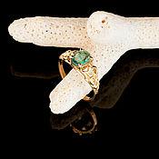 Rings handmade. Livemaster - original item Ring with emerald