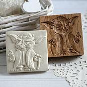Для дома и интерьера handmade. Livemaster - original item Master Yoda press dough carving. Handmade.