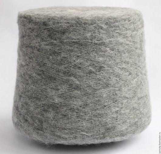 Вязание ручной работы. Ярмарка Мастеров - ручная работа. Купить 80% беби альпака 20% полиамид. Handmade. Серый, пряжа