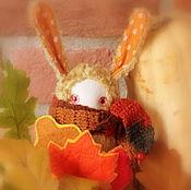 """Куклы и игрушки ручной работы. Ярмарка Мастеров - ручная работа Кроликоид """"Золотая осень"""". Handmade."""