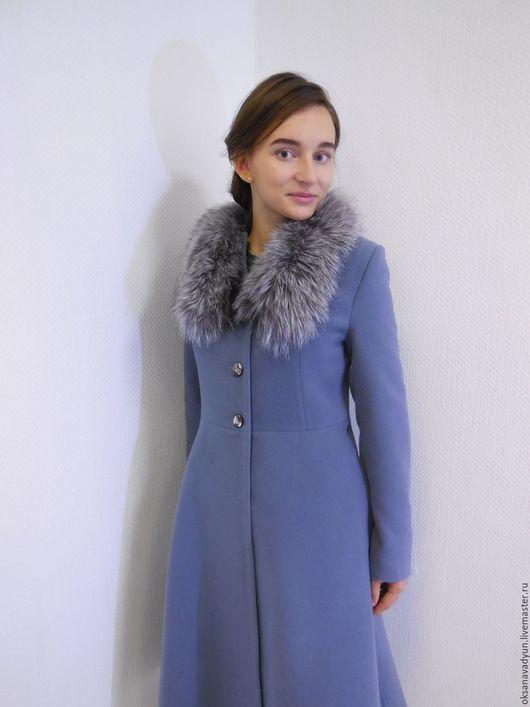 Верхняя одежда ручной работы. Ярмарка Мастеров - ручная работа. Купить Пальто зимнее Queen. Handmade. Серый, пальто женское