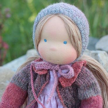 Куклы и игрушки ручной работы. Ярмарка Мастеров - ручная работа Куклы: Вальдорфская кукла Марисса 42 см. Handmade.
