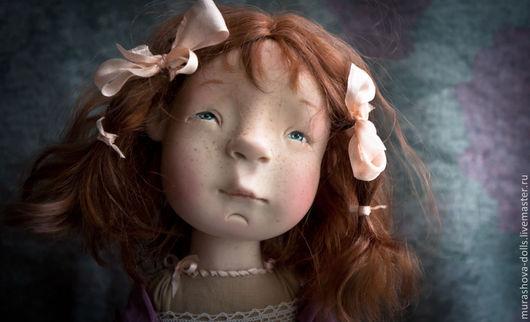 Коллекционные куклы ручной работы. Ярмарка Мастеров - ручная работа. Купить Малиновое суфле. Handmade. Брусничный, любить и жаловать