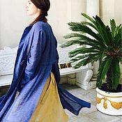 """Одежда ручной работы. Ярмарка Мастеров - ручная работа Льняной пыльник """"Massandra"""". Handmade."""