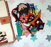 Куклы и игрушки ручной работы. Ярмарка Мастеров - ручная работа Развивающая книжка для мальчиков. Handmade.