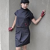 """Одежда ручной работы. Ярмарка Мастеров - ручная работа Джинсовый костюм"""" АГАТА"""". Handmade."""