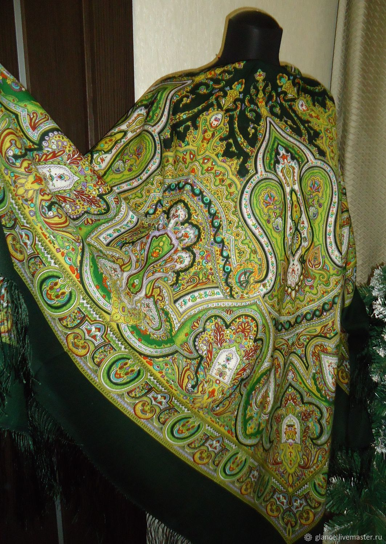 павловский платок на велберис