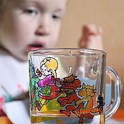 """Посуда ручной работы. Ярмарка Мастеров - ручная работа Кружка детская """"Вытянули Репку!. Handmade."""