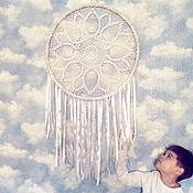Для дома и интерьера ручной работы. Ярмарка Мастеров - ручная работа Angels Wings. Дизайнерский ловец снов. Бохо. Handmade.