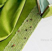 Одежда ручной работы. Ярмарка Мастеров - ручная работа Юбка и клатч  оливкового цвета. Handmade.