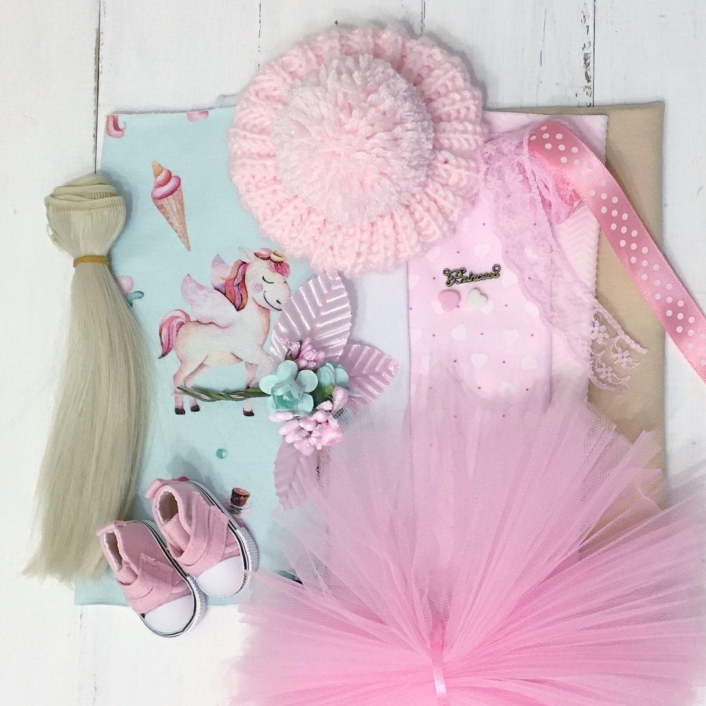 Набор для шитья куклы «Сон принцессы», Заготовки для кукол и игрушек, Одинцово,  Фото №1