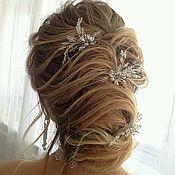 Свадебный салон handmade. Livemaster - original item Hairpins for bride hairstyle. Handmade.