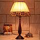 """Освещение ручной работы. Ярмарка Мастеров - ручная работа. Купить Настольная лампа """"Сафари"""". Handmade. Макраме, Этнический стиль"""